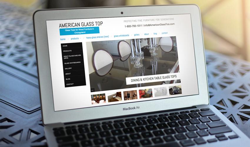American Glass Top