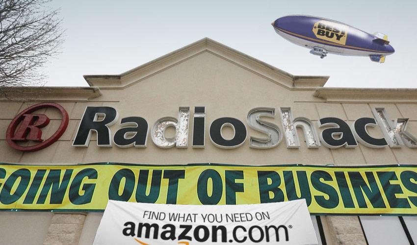A stubborn business model sinks RadioShack