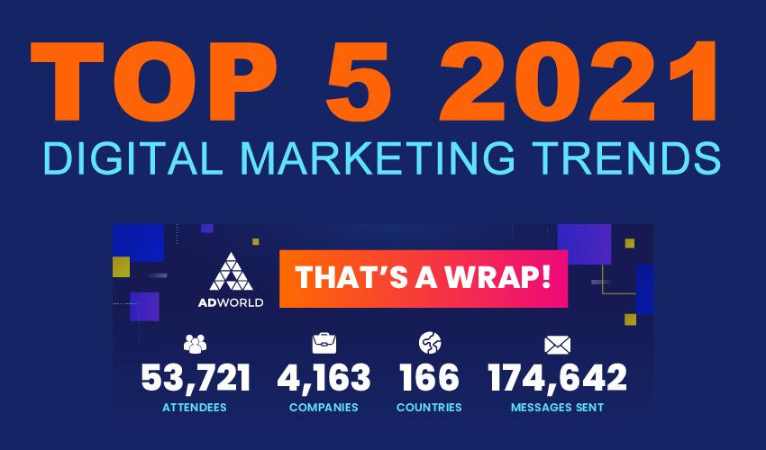 Top 5 Digital Marketing Trends For 2021